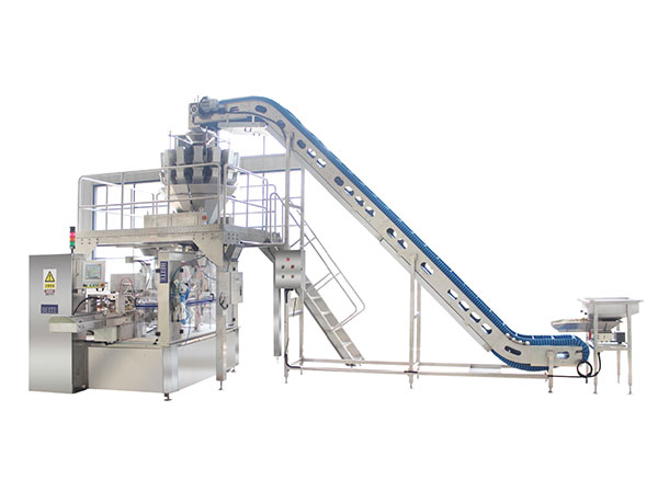 Granule-packaging-machine