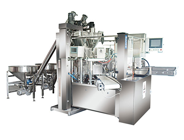 Powder-packaging-machine